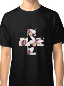 Contrast Floral + Classic T-Shirt