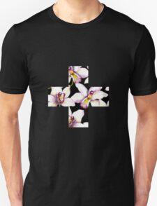 Contrast Floral + Unisex T-Shirt