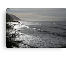 Swell Lines Canvas Print