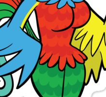 Bird Girl Sticker