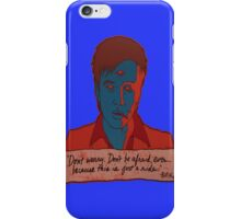 Bill Hicks - don't worry iPhone Case/Skin
