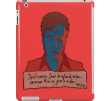 Bill Hicks - don't worry iPad Case/Skin