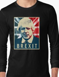 Boris Johnson Brexit Long Sleeve T-Shirt