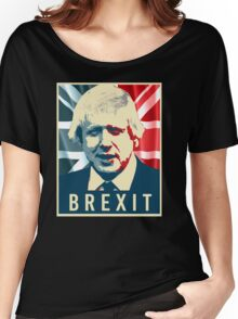 Boris Johnson Brexit Women's Relaxed Fit T-Shirt
