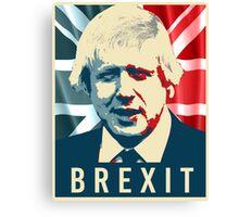 Boris Johnson Brexit Canvas Print