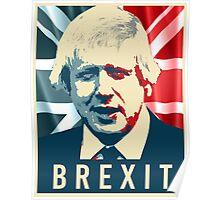 Boris Johnson Brexit Poster