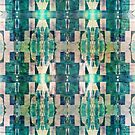 Abstract Collage Pattern by Portia Greenwood
