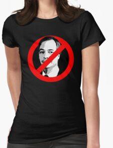 Anti Nigel Farage Womens Fitted T-Shirt