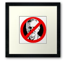 Anti Jeremy Corbyn Framed Print