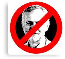 Anti Jeremy Corbyn Canvas Print