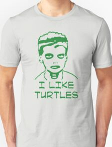 I LIKE TURTLES  FUNNY ZOMBIE Unisex T-Shirt