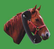 Hello, Horse Speaking One Piece - Short Sleeve