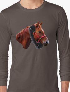 Hello, Horse Speaking Long Sleeve T-Shirt