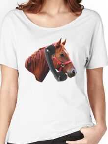 Hello, Horse Speaking Women's Relaxed Fit T-Shirt