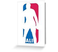 Muh Ali (NBA) Greeting Card