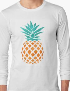 Pineapple Pineapple I love you like Pineapple Long Sleeve T-Shirt