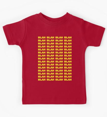 Blah wars Kids Tee