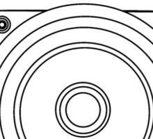 camera-outline Sticker