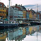 Nyhavn dawn by Cameron B