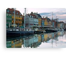 Nyhavn dawn Canvas Print