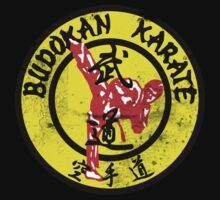 Distressed Karate T Shirt. by RussellK99