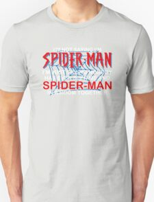Spiderman Room Unisex T-Shirt