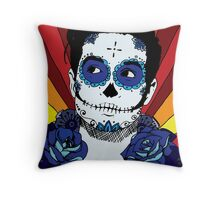 Brendon Urie Sugar Skull Throw Pillow