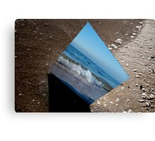 Reflection of Chelsea Beach Canvas Print