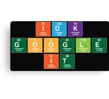 Google It Canvas Print