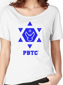 PBTC™ New Brand Logo - Powered By The Creator™  Women's Relaxed Fit T-Shirt