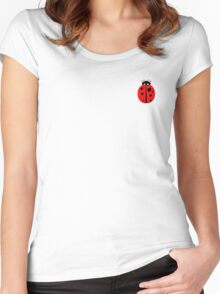Lady Bug Women's Fitted Scoop T-Shirt