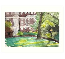 Newington Green Art Art Print