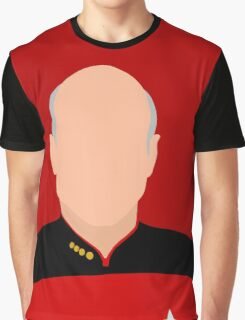 Star Trek - The Next Generation (Patrick Stewart) Graphic T-Shirt