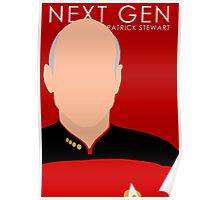 Star Trek - The Next Generation (Patrick Stewart) Poster