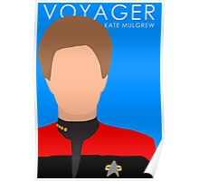 Star Trek - Voyager (Kate Mulgrew) Poster