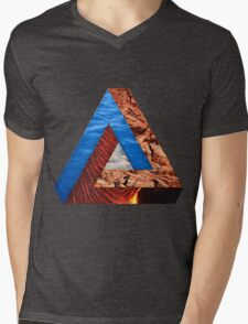 Elements of a triangle Mens V-Neck T-Shirt