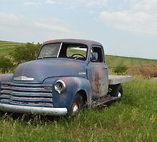 Blue Chevrolet by RenieRutten
