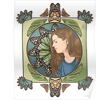 Kelli Butterfly Poster