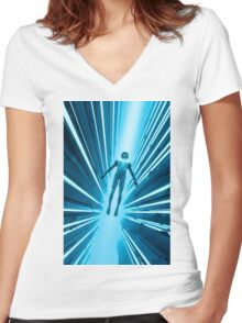Ascension Women's Fitted V-Neck T-Shirt