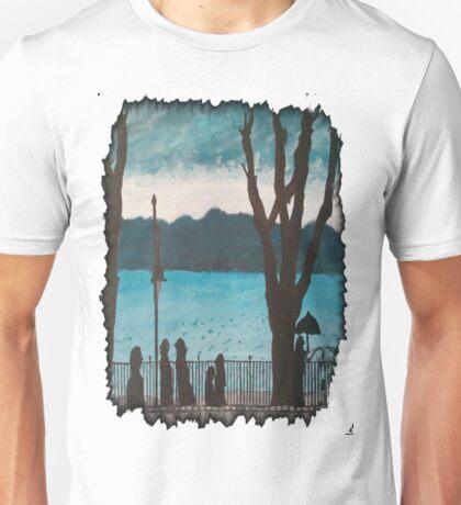 Evening lake Unisex T-Shirt