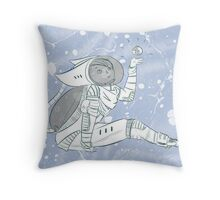 What a beautiful thing (blue) Throw Pillow