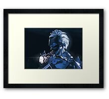 Raiden Is Back Framed Print