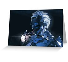 Raiden Is Back Greeting Card