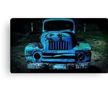 Lomography Truck Photography Canvas Print