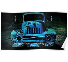 Lomography Truck Photography Poster