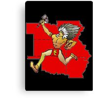 Kansas City Chief Canvas Print