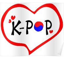 LOVE K-POP MUSIC Poster