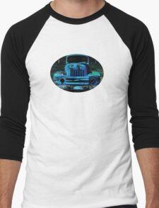 Lomography Truck Photography Men's Baseball ¾ T-Shirt