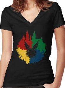 Hogwarts Harry Potter and the Cursed Child Women's Fitted V-Neck T-Shirt
