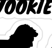 """I'd just as soon kiss a Wookie!"" Sticker"